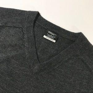 Men's Nike Golf Charcoal V-Neck Sweater Large